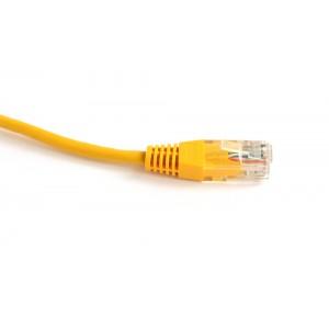 Патч-корд RJ45 UTP кат5е медный Neomax 3м желтый