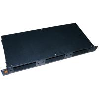 """Кросс оптический LANMASTER 19"""" металлический, глубина - 200мм, 1U на  3 адаптерные панели"""