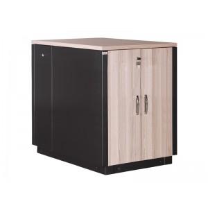 """Серверный звукопоглощающий шкаф 17U, 750х1130, SoundProof SERVER 19"""" цвет вишня"""