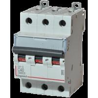 Автоматический выключатель Legrand  DX3-E C40 3П 6kA (407295)
