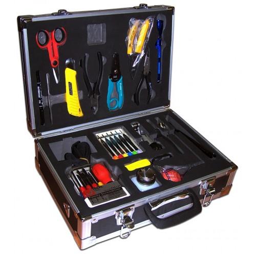 Набор инструментов LAN-NT-TK/FIBER для работы с оптическим кабелем LAN-NT-TK/FIBER