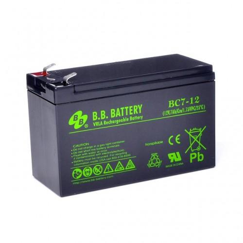 Аккумуляторная батарея В.В.Battery BC 7-12 BC 7-12